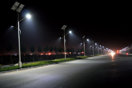 iluminación led publica